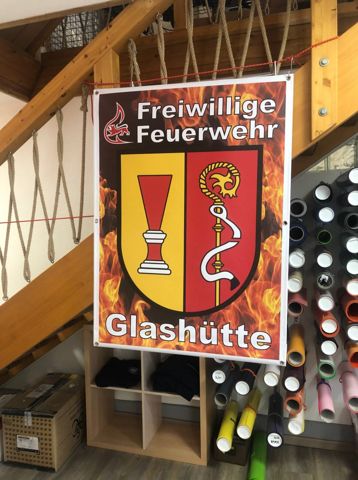 Glashütte  by Sauter Textildruck